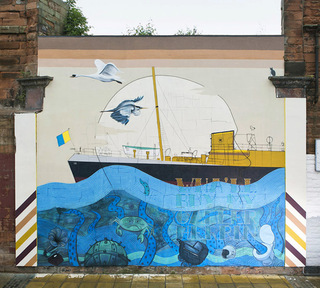 Blameless - 'The Leith Aquatic' - Halmyre St, Edinbrugh