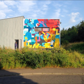Whale Arts Mural, Wester Hailes.